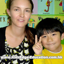 Native English Speaking Teacher, Joanna Hewett