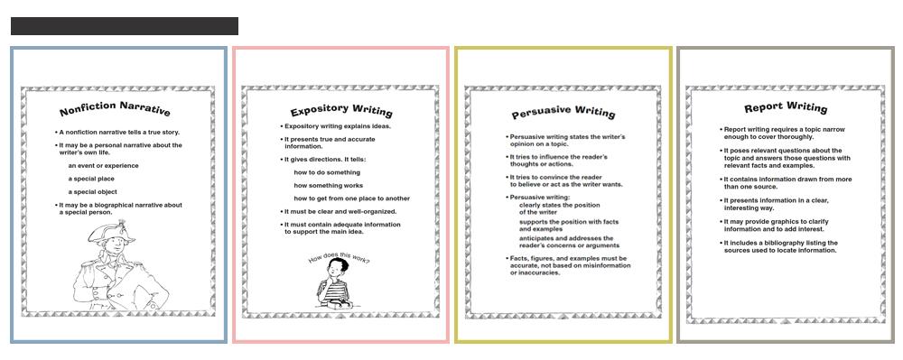 Non Narrative Writing